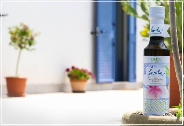 bottiglia olio d'oliva favola - Azienda Agricola Oliva