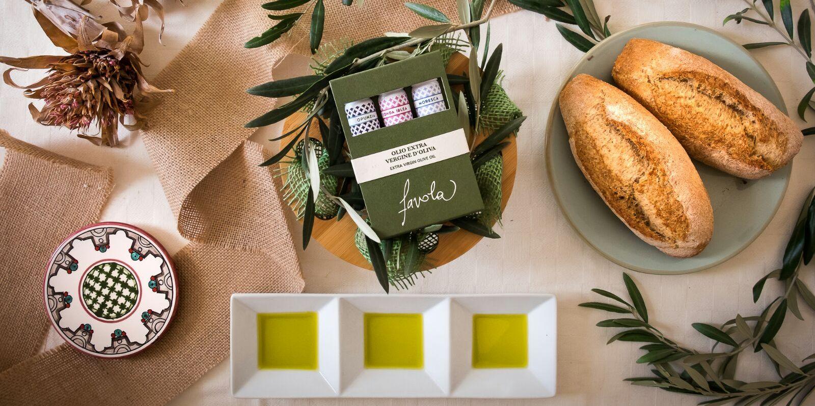 Pane ed olio d'oliva Favola - Agricola Oliva